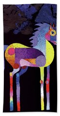 Night Foal Hand Towel