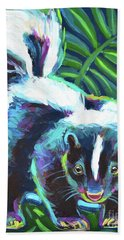 Night Moves Hand Towel by Robert Phelps
