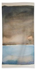 Night On The Lake Bath Towel