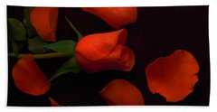 Night Rose 2 Bath Towel