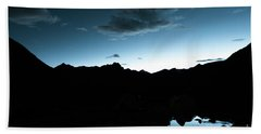 Night Sky Himalayas Tibet Yantra.lv Hand Towel