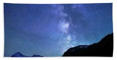 Night Sky In David Thomson Country Bath Towel