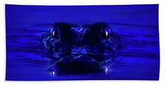 Night Watcher Hand Towel by Mark Andrew Thomas