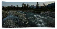 Nightfall In Montana Bath Towel