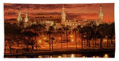 Nightfall In Tampa Hand Towel