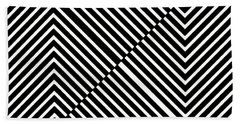 Nightlife Illusions Hand Towel