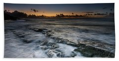 Nimitz Beach Sunrise Bath Towel