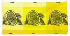Nine Shades Of Lemon Bath Towel