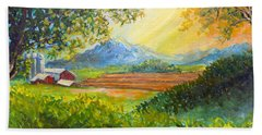 Nixon's Majestic Farm View Bath Towel