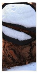 No Snow Sign  Hand Towel by Kim Henderson