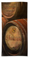 No Wine Before It's Time - Barrels-chateau Meichtry Bath Towel