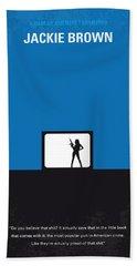No044 My Jackie Brown Minimal Movie Poster Hand Towel