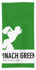 No07 My Minimal Color Code Poster Popeye Hand Towel