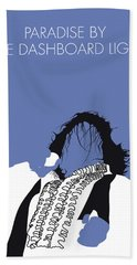 No078 My Meat Loaf Minimal Music Poster Bath Towel