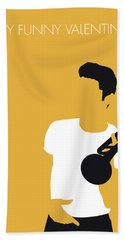 No084 My Chet Baker Minimal Music Poster Bath Towel