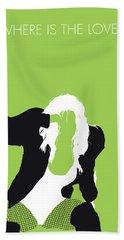 No086 My The Black Eyed Peas Minimal Music Poster Bath Towel