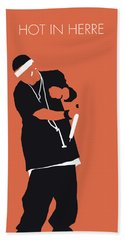 No093 My Nelly Minimal Music Poster Hand Towel