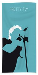 No095 My The Offspring Minimal Music Poster Bath Towel