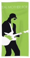 No106 My Johnny Guitar Watson Minimal Music Poster Bath Towel
