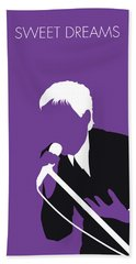 No111 My Eurythmics Minimal Music Poster Hand Towel