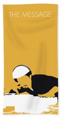 No114 My Grandmaster Flash Minimal Music Poster Bath Towel