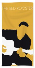 No124 My Howlin Wolf Minimal Music Poster Hand Towel