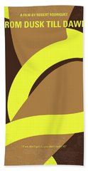 No127 My From Dusk This Dawn Minimal Movie Poster Hand Towel
