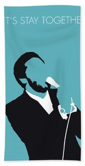 No135 My Al Green Minimal Music Poster Hand Towel