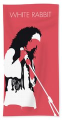 No172 My Jefferson Airplane Minimal Music Poster Hand Towel