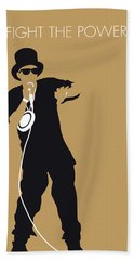 No180 My Public Enemy Minimal Music Poster Hand Towel
