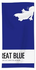 No27 My Minimal Color Code Poster Gonzo  Hand Towel