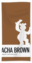 No28 My Minimal Color Code Poster Fozzy  Hand Towel