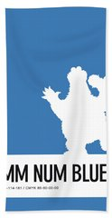 No29 My Minimal Color Code Poster Cooky  Bath Towel