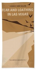 No293 My Fear And Loathing Las Vegas Minimal Movie Poster Hand Towel