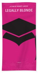 No301 My Legally Blonde Minimal Movie Poster Hand Towel
