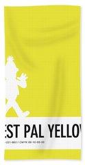 No31 My Minimal Color Code Poster Bert Hand Towel