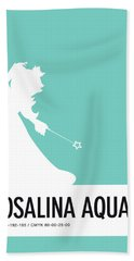 No39 My Minimal Color Code Poster Rosalina Hand Towel