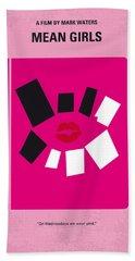 No458 My Mean Girls Minimal Movie Poster Bath Towel