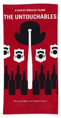 No463 My The Untouchables Minimal Movie Poster Hand Towel