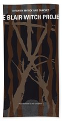 No476 My The Blair Witch Project Minimal Movie Poster Bath Towel