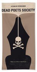 No486 My Dead Poets Society Minimal Movie Poster Hand Towel