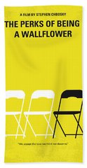 No575 My Perks Of Being A Wallflower Minimal Movie Poster Bath Towel