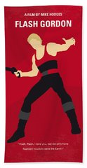 No632 My Flash Gordon Minimal Movie Poster Bath Towel