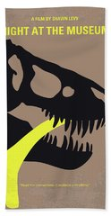 No672 My Night At The Museum Minimal Movie Poster Hand Towel