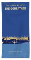 No686-1 My Godfather I Minimal Movie Poster Bath Towel