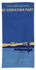No686-2 My Godfather II Minimal Movie Poster Bath Towel