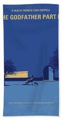 No686-3 My Godfather IIi Minimal Movie Poster Hand Towel