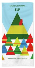 No699 My Elf Minimal Movie Poster Hand Towel