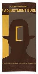 No710 My The Adjustment Bureau Minimal Movie Poster Hand Towel