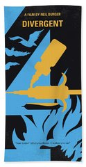 No727 My Divergent Minimal Movie Poster Hand Towel